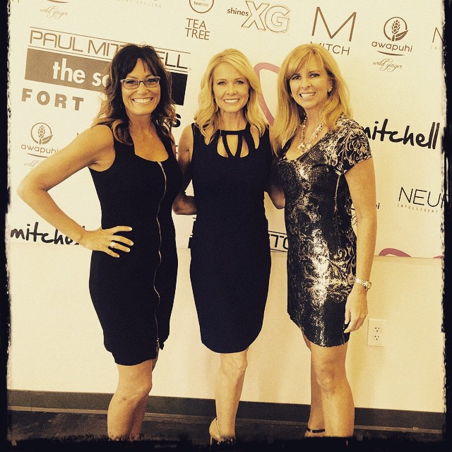 Getting ready to speak at the Paul Mitchell School in…