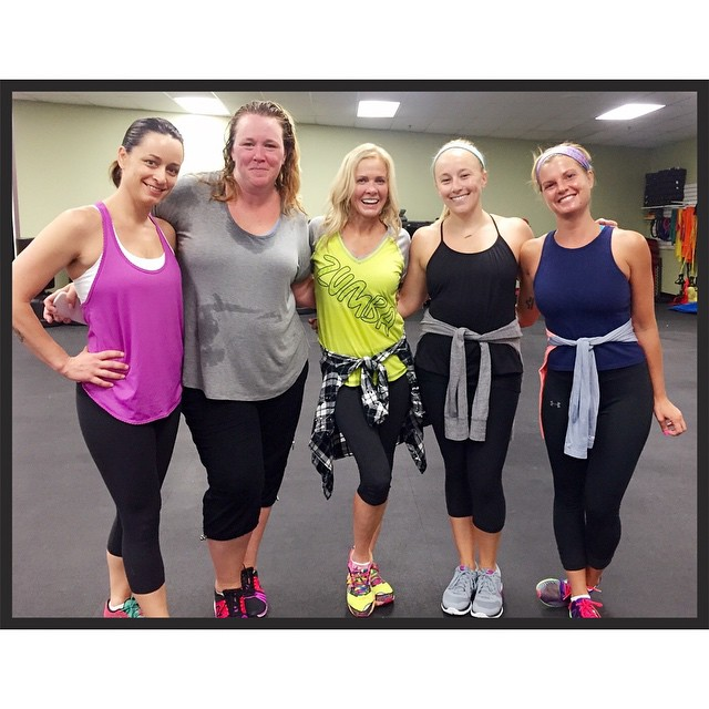 Had such a blast at Zumba in the Circuit classhellip