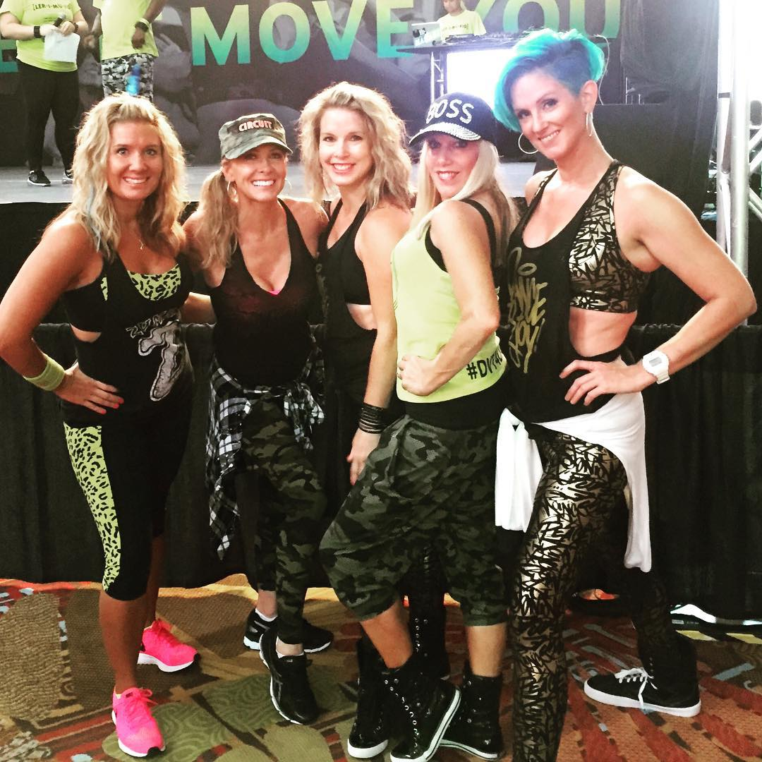 Great to see old friends at the Zumba Convention! Ihellip