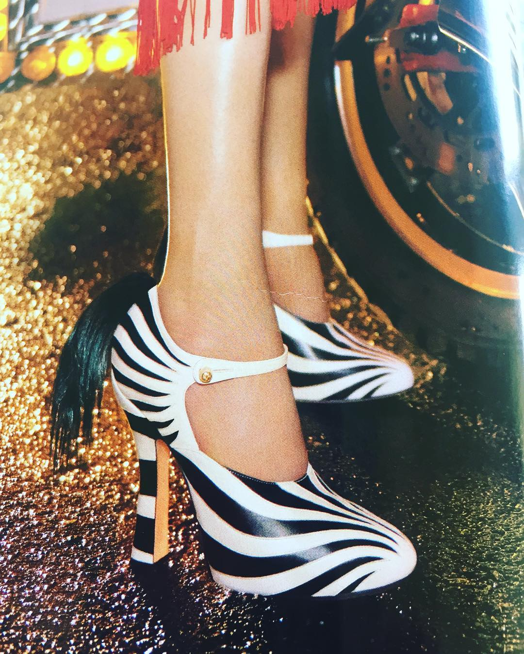 Gives a whole new meaning to zebra hunting fashion fashionablehellip