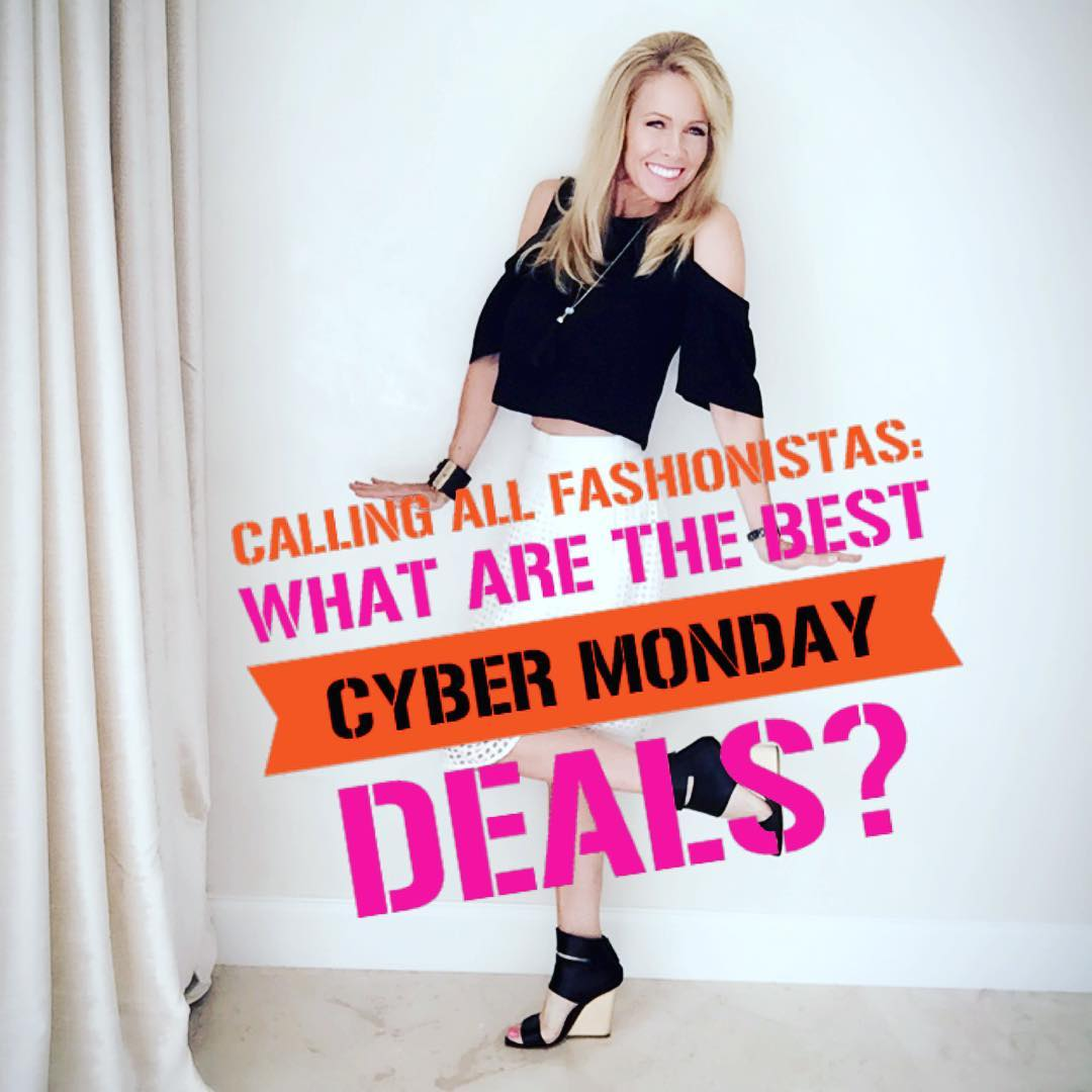 Calling all fashionistas What are the best Cyber Monday dealshellip