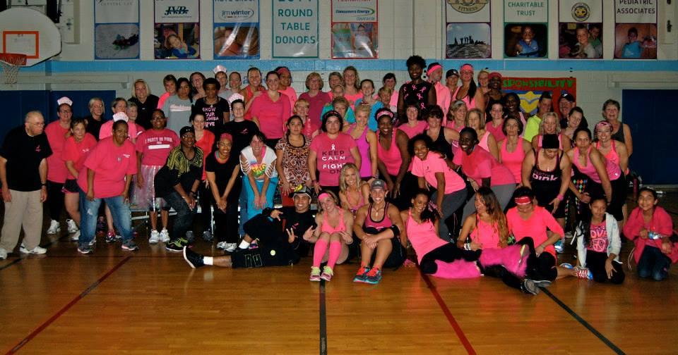zumbathon breast cancer awareness